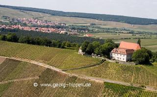 Kloster Vogelsburg - Luftaufnahme