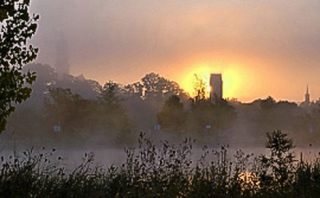 Volkach - Sonnenaufgang